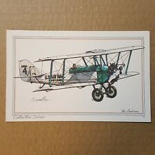 Swallow Collector Series by Roy Andersen Varney Airlines litho Postcard