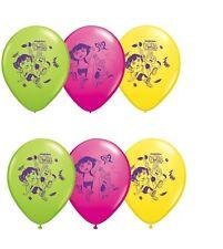 "(6ct) Nickelodeon Dora Birthday Latex Balloons Party Supplies 12"""