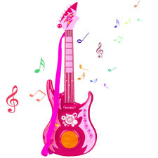 Kids Electric Rock n Roll Guitar Musical Educational Instrument Toy Light Music