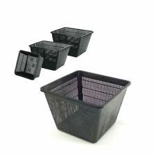 More details for square pond planting baskets koi fish aquatic garden margins plant plastic