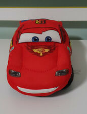 TALKING LIGHTNING MCQUEEN CARS TOY DISNEY 2011 22CM LONG MOUTH MOVES!