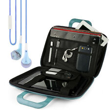 "SumacLife Tablet Leather Shoulder Bag Case for 12""Samsung Galaxy Book 2+Earphone"