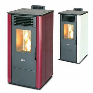 Stufa a pellet 9 kw ventilata riscaldamento 200mc LOLITA90 Divina Fire