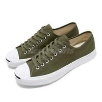 d2171118bca Converse Jack Purcell Green Canvas White Mens Womens Classic Casual Shoe  164105C