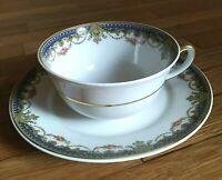 Porcelain Tea Set France Limoges Vintage 1940s
