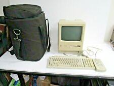 Apple MacIntosh Plus Model # M0001A w/Keyboard/Modem & Bag-For Parts Or Repair