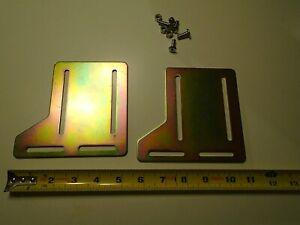 TECH TEAM Bed headboard adaptor plate set 0745..never used