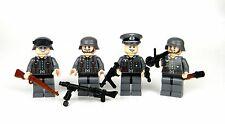 Light Flesh WW2 German Wehrmacht squad made w/ real LEGO® minifigures