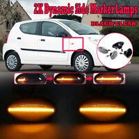 Dynamic LED Side Siganl Indicator Light For Suzuki Swift SX4 Jimmy Grand