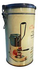 Büchsen in Zinn Caffè für Kaffeemaschine Caravel Arrarex Vintage Jahre 60