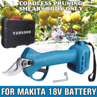 Cordless Electric Pruning Shears Secateur Branch Cutter For Makita 18V