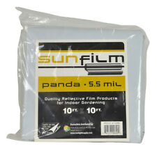 Sunfilm Black & White Panda Film 10FT x 10FT - Waterproof  Poly Film - Free Ship