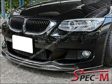 AK Style Carbon Fiber Bumper Lip Fit 11-13 E92 328i 335i LCI Coupe M sports