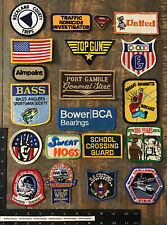LOT OF 15 VINTAGE PATCHES #3