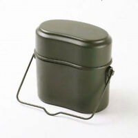 Soldier Military Lunch Box Canteen Kettle Pot Food Bowl Outdoor Camping Mess Kit