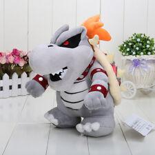 "10"" Super Mario Dry Bowser Bones Koopa Plush Doll Soft Toy Stuffed Animal gift"