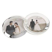 Portafotos y marcos decorativos en plateado plata para el hogar