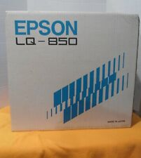 Vintage Epson LQ-850 Printer, Original Box,& All Accessories,Super Epson Bundle!