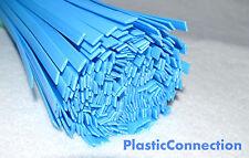 PP Saldatura plastica bacchette (8mm) blu confezione 20 pcs /piatto strisce