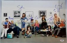 MODERN FAMILY Cast Signed 12x18 Photo ED O'NEILL SOFIA VERGARA TY BURRELL PSA B
