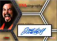 TNA James Mitchell 2008 Impact SILVER Authentic Autograph Card