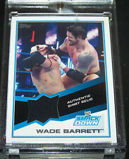 Topps WWE 2013 Trading Card Wade Barrett Authentic Shirt Relic