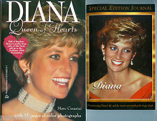 Princess Diana:TWO SOFTCOVER BOOKS ONE WITH 16 PAGES PHOTOS