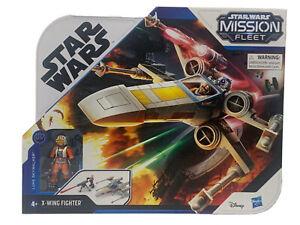 Star Wars Mission Fleet Stellar Class Luke Skywalker X-Wing Fighter and Figure