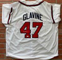 Tom Glavine autographed signed jersey MLB Atlanta Braves JSA COA
