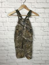 ROUND HOUSE Toddler Real Tree Camo Overalls Size 3T