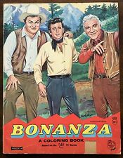 Comics BBC - Bonanza. Coloring Book. NBC Saalfield Artcraft. First Edition. 1963