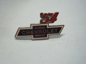 1954  Chevrolet Bowtie  Lapel Hat Pin Badge