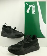 NEW Puma MEN'S Black RS-X Core Fitness Gym Sneakers Size 12 US
