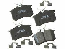 For 2000-2002 Audi S4 Brake Pad Set Rear Bendix 67317WJ 2001 2.7L V6