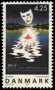 """DENMARK 1250 - Poster Art """"International Theater Festival"""" (pf31167)"""