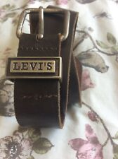LEVI'S Leather Belt Size 30""