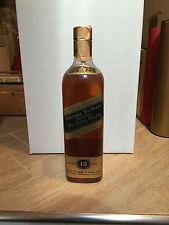 Johnnie Walker Black Label 12yo Old Scotch Whisky Kilmarnock 75cl 40% Vol