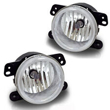 2011-2013 Jeep Grand Cherokee Fog Light Replacement Set - Clear