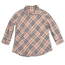Burberry London Gr XL Bluse Blouse NOVACHECK CLASSIC Oberteil Portugal Herbst