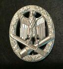 Внешний вид - GERMAN WWII GENERAL ASSAULT BADGE IN SILVER 1957 BUNDESREPUBLIK PATTERN REPLICA
