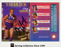 1995 Select AFL Series 1 Signature Redemption Tribute Doug Hawkins (Bulldogs)