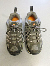 "Merrell  ""Moab Ventilator"" blue and gray hiking shoes. Women's 7.5 (eur 38)"