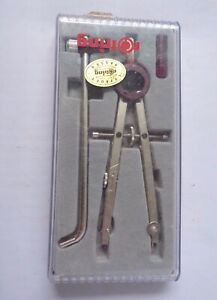 Rotring R530136 Compass Set Tool With Extension Bar Boxed Made In Germany