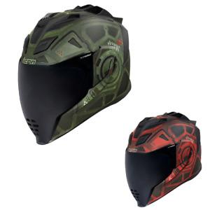 2021 Icon Airflite Blockchain Street Motorcycle Helmet - Pick Size & Color