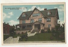 Phi Kappa Sigma Fraternity House PENN STATE UNIVERSITY State College PA Postcard