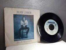 45 GIRI JULIAN LENNON TOO LATE FOR GOODBYES - WELL I DON'T KNOW. 1984