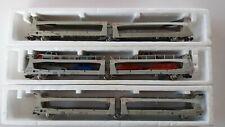 Rame de 3 wagons S.T.V.A articulés 3 essieux JOUEF référence 6571