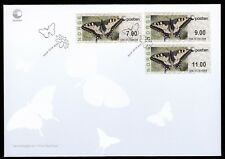 Norway 2008 3x Fdcs Butterfly Atm Issue - New Logo Type