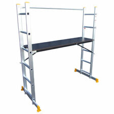 Abbey 5 Way Multi Purpose Platform and Scaffold Combination Ladder