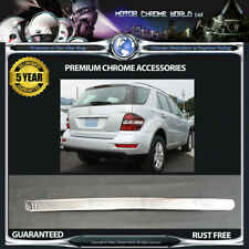 FITS TO MERCEDES ML W164 CHROME REAR BUMPER TRIM COVERS 5y GUARANTEE 08-11 OFFER